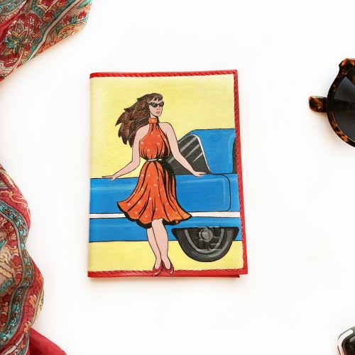 Девушка с автомобилем